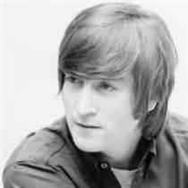 A younger John Lennon