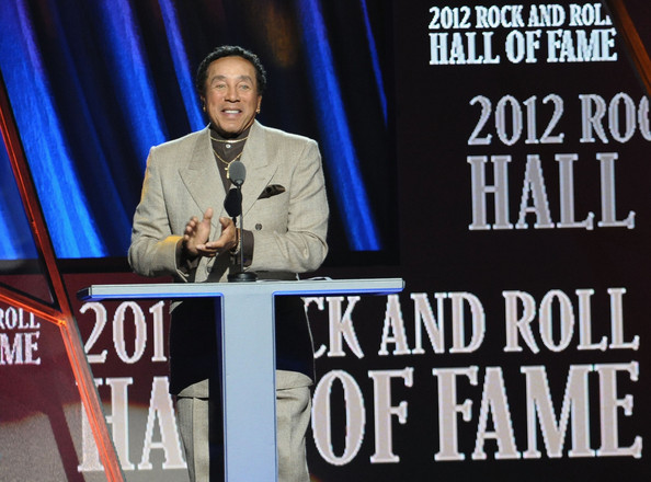 Smokey Robinson and the Miracles  (as a group) were inducted in 2012.