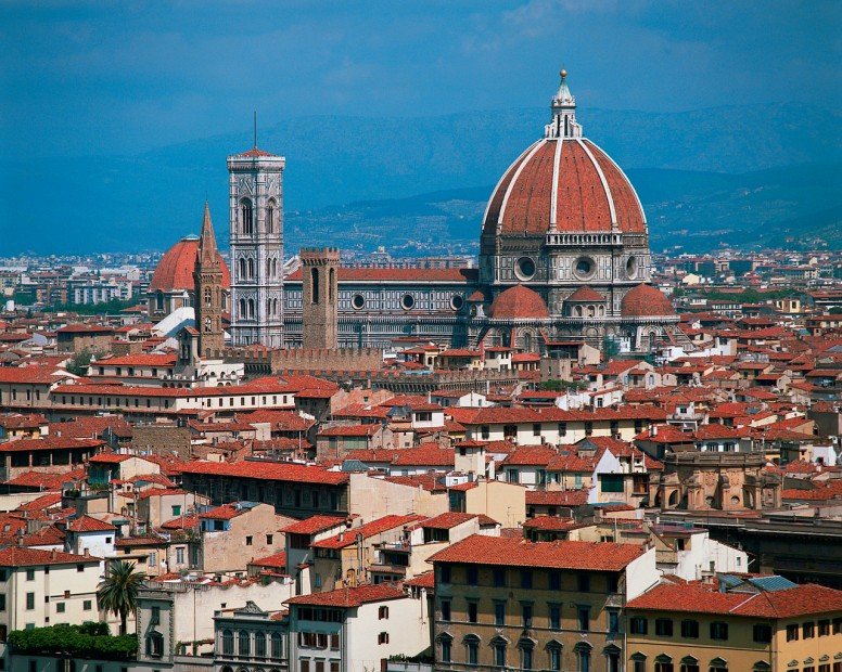 The Florence skyline...