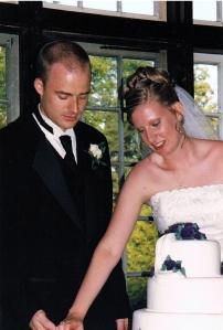 The bride and groom (indoor reception)...