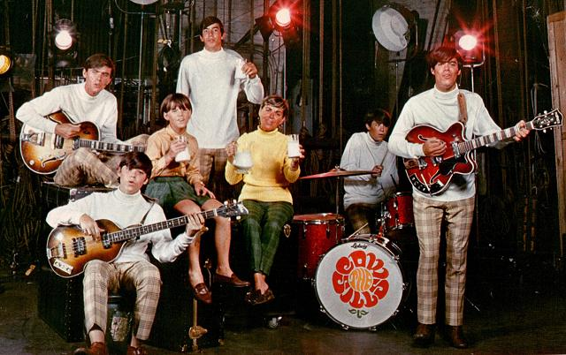 The Cowsills... a family band.
