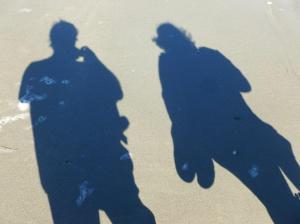 A shadowy pair...