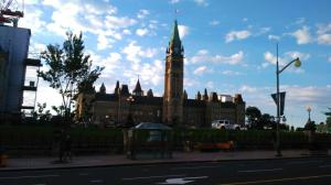 a walk by the Parliament Buildings...