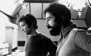 Lou Adler (on the right) with musician Herb Alpert.