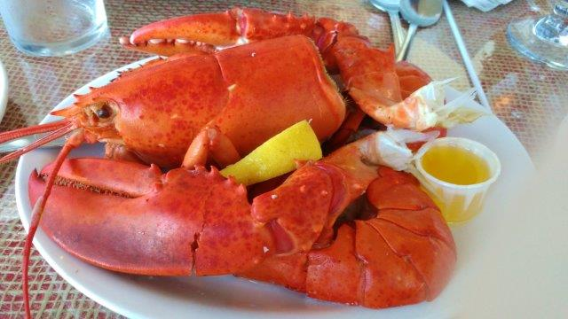 Mmmm lobster supper June 7 Baddeck